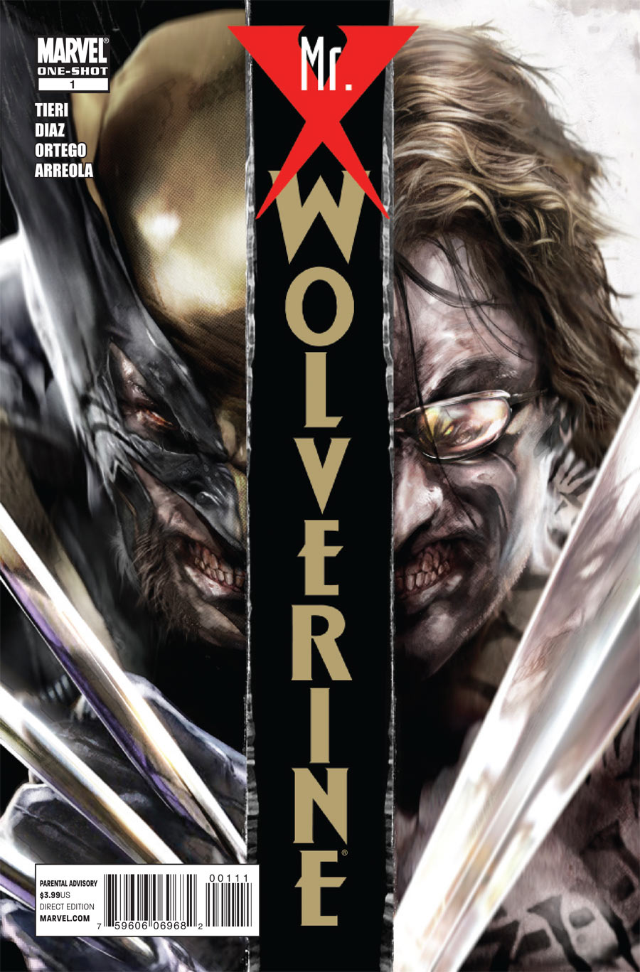 Wolverine: Mr. X Vol 1 1