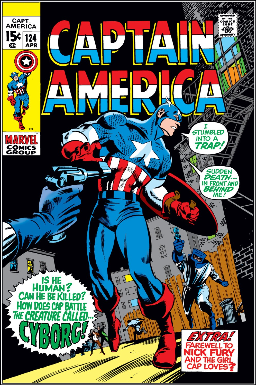 Captain America Vol 1 124