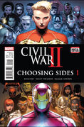 Civil War II Choosing Sides Vol 1 1