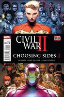 Civil War II Choosing Sides Vol 1 1