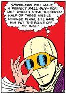 Dmitri Smerdyakov (Earth-616) from Amazing Spider-Man Vol 1 1 0002