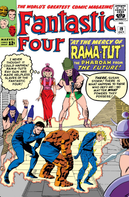 Fantastic Four Vol 1 19