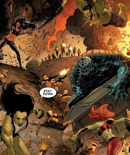 Hulk Busters (Earth-33124)/Gallery