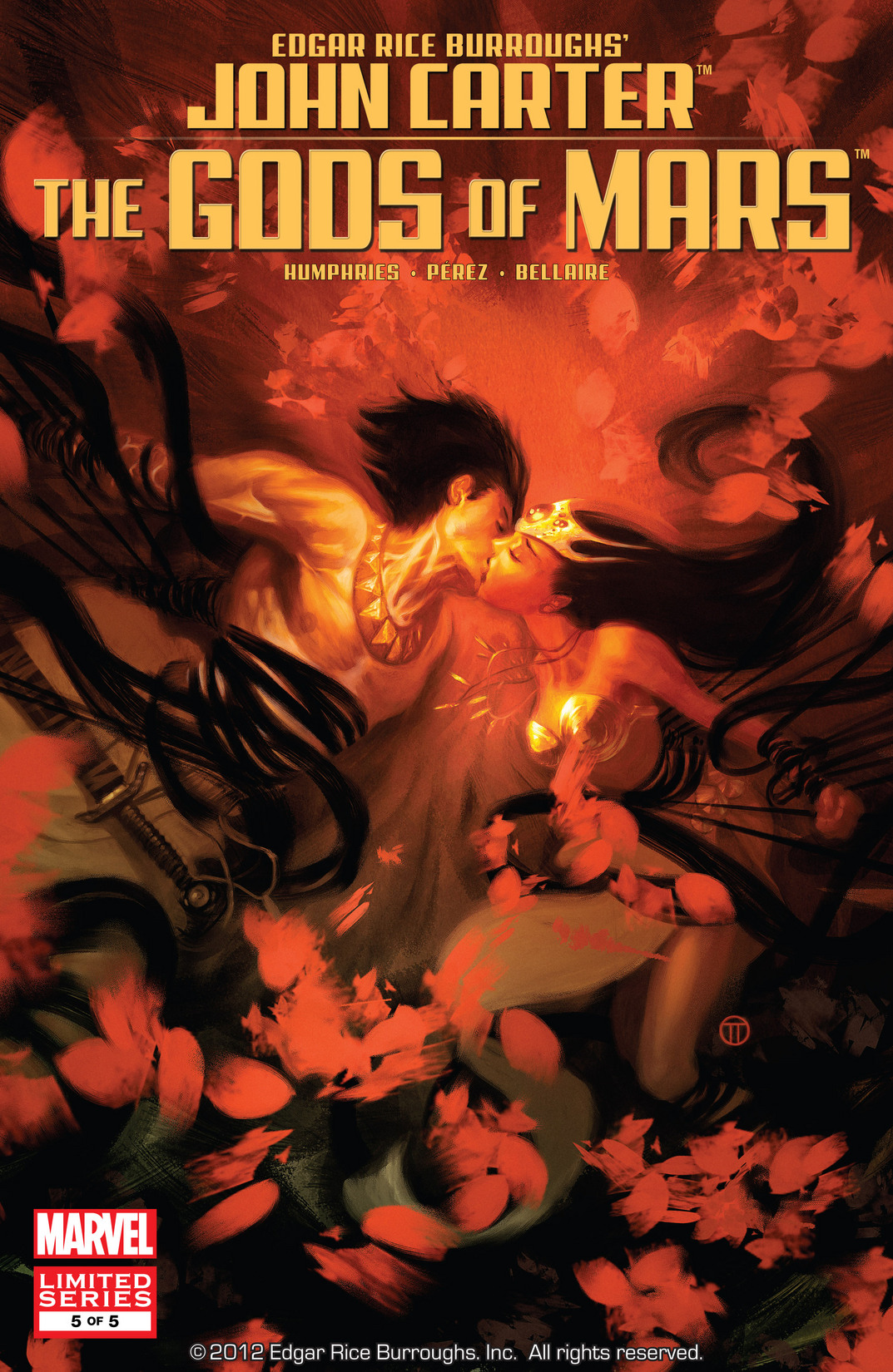 John Carter: The Gods of Mars Vol 1 5