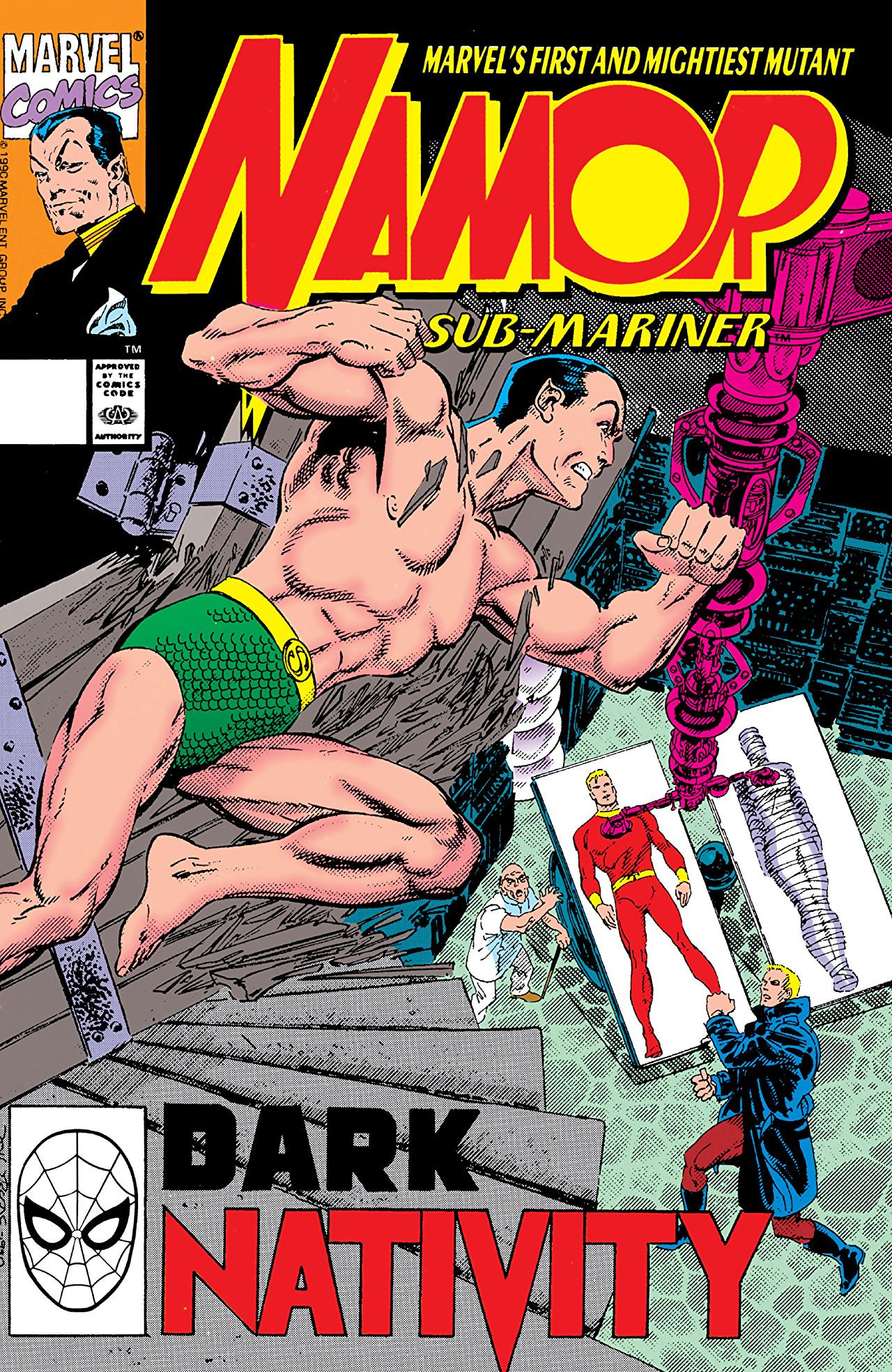 Namor the Sub-Mariner Vol 1 10