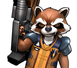 Rocket Raccoon (Earth-TRN562) from Marvel Avengers Academy 002.png