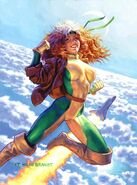 Rogue (Anna Marie) (Earth-616) from 1994 Marvel Masterpieces (Trading Cards) 0001