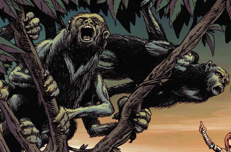 Six-Legged Monkeys