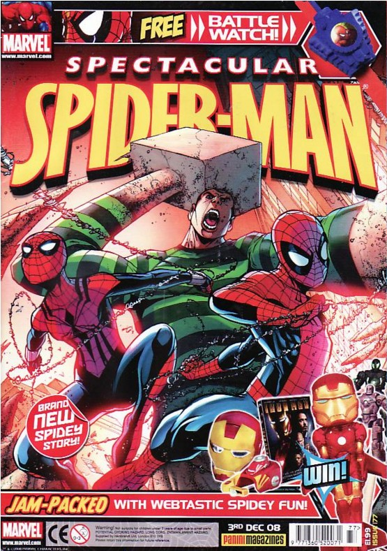 Spectacular Spider-Man (UK) Vol 1 177