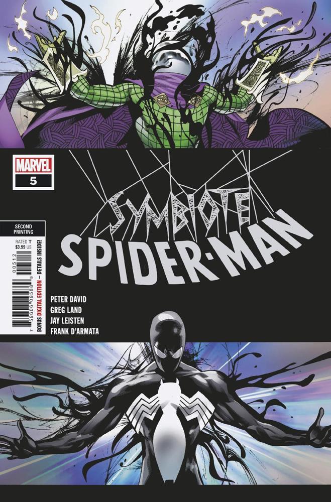 Symbiote Spider-Man Vol 1 5 Second Printing Variant.jpg