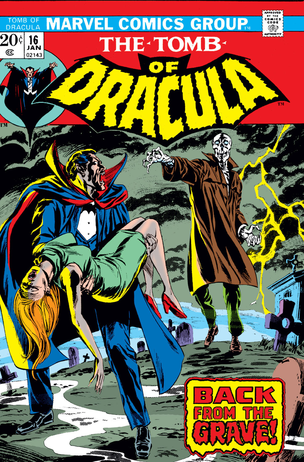 Tomb of Dracula Vol 1 16