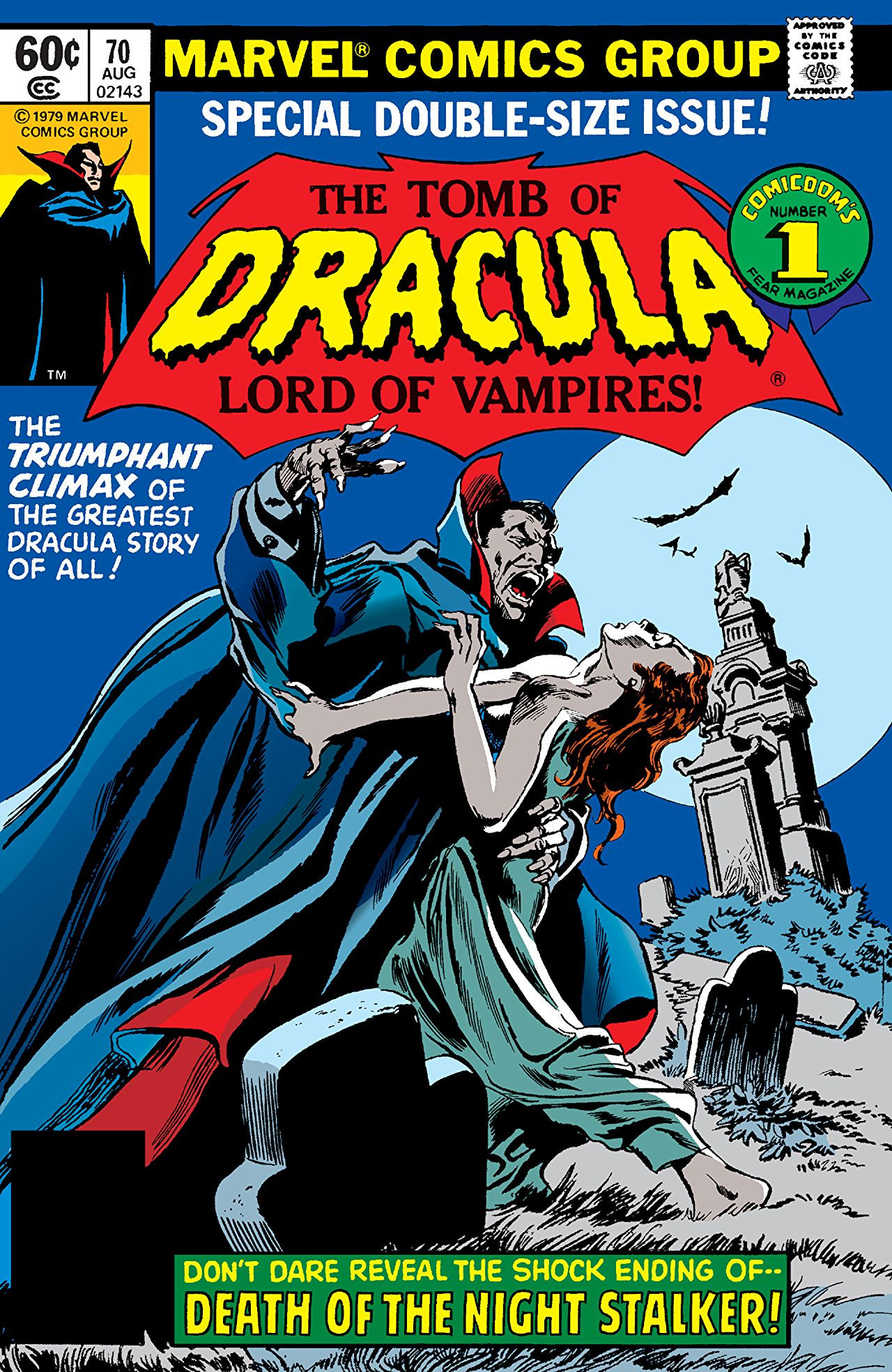 Tomb of Dracula Vol 1 70