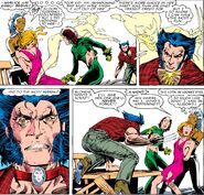 Alice MacAllister (Earth-616) and X-Men (Earth-616) from Uncanny X-Men Vol 1 214 001