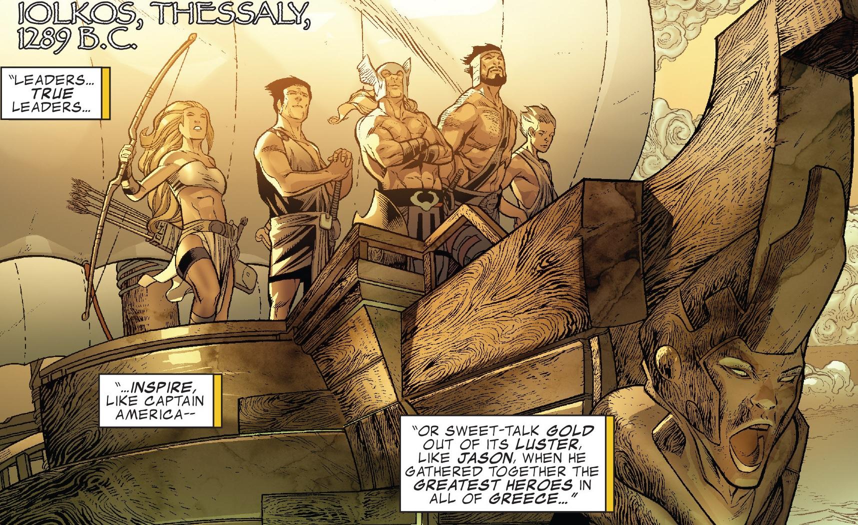 Argonauts (Earth-616)/Gallery