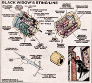 Black Widow's Gauntlets from Official Handbook of the Marvel Universe Vol 1 14 0001