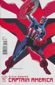 Captain America Steve Rogers Vol 1 1 Steranko Second Printing Variant.jpg