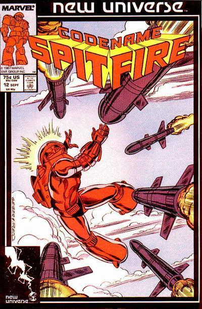 Codename: Spitfire Vol 1 12