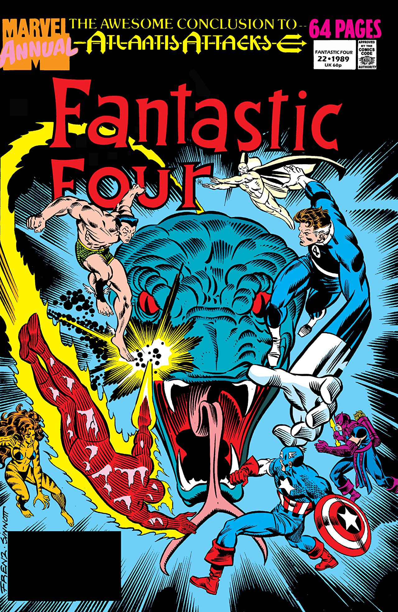 Fantastic Four Annual Vol 1 22