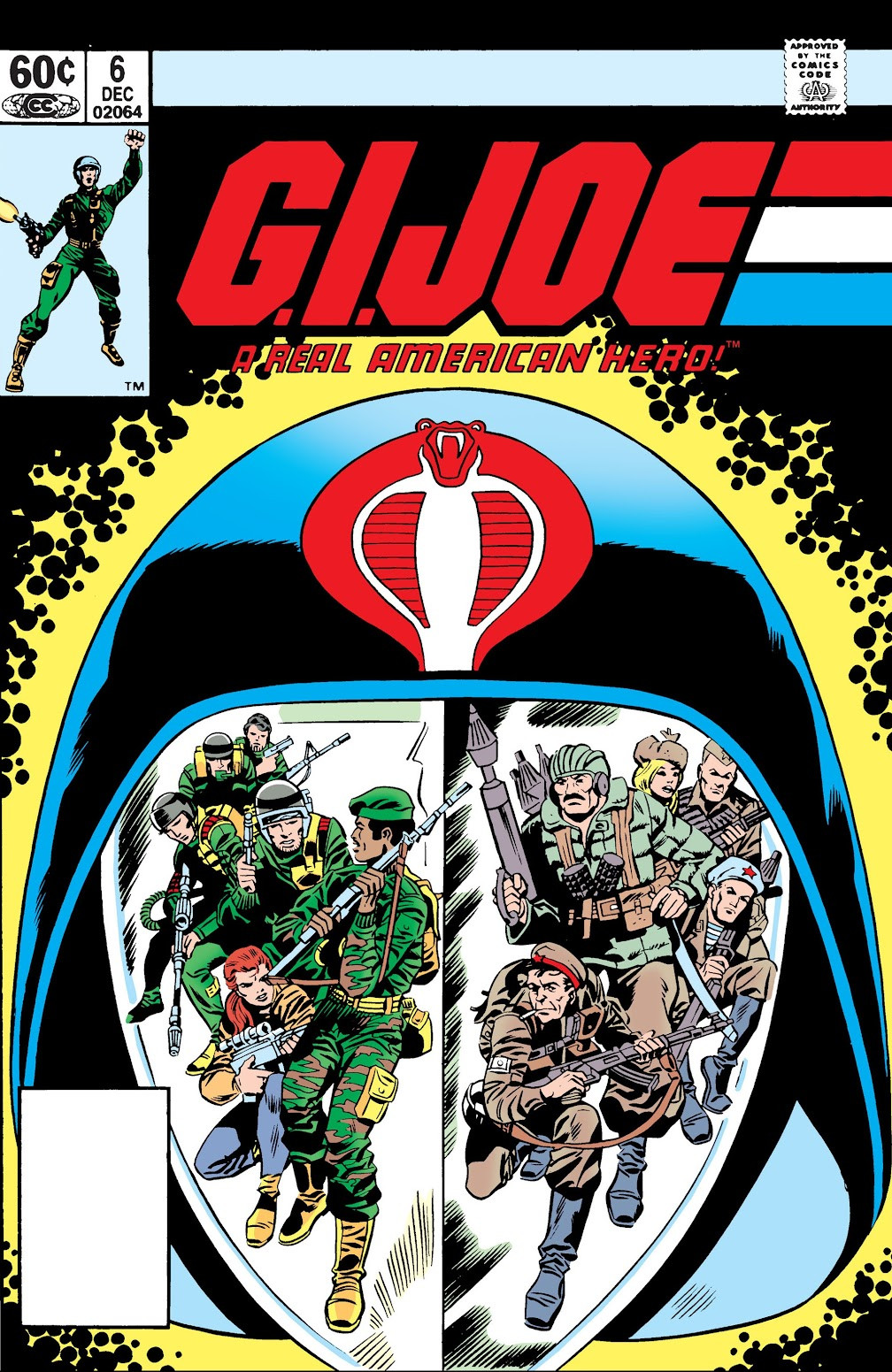 G.I. Joe: A Real American Hero Vol 1 6