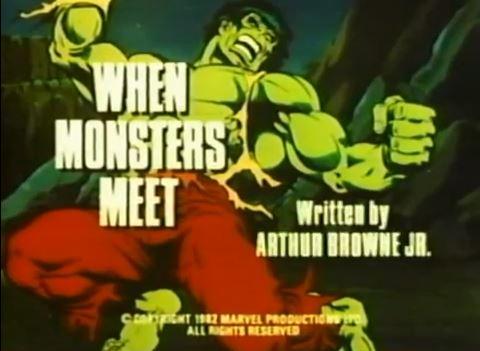 Incredible Hulk (1982 animated series) Season 1 4