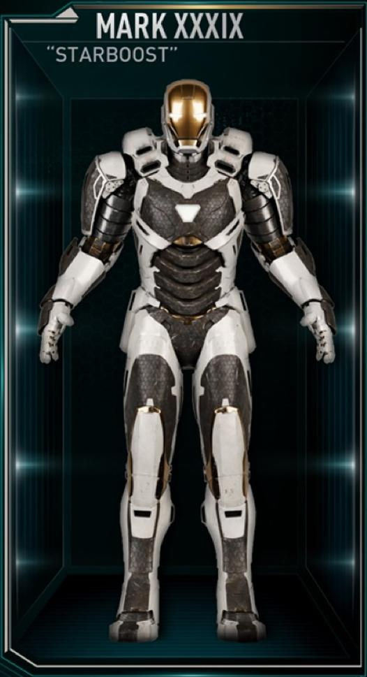 Iron Man Armor MK XXXIX (Earth-199999)