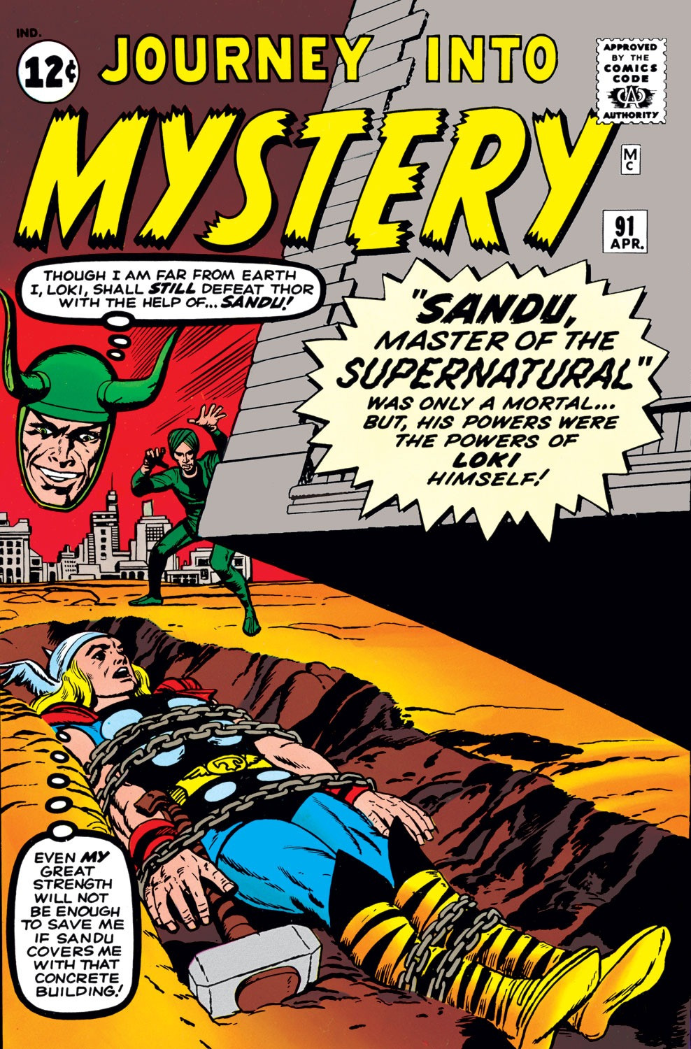 Journey into Mystery Vol 1 91