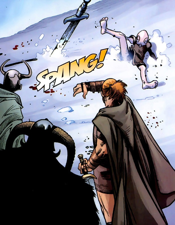 Loki Laufeyson (Earth-616) and Odin Borson (Earth-616) from Thor Vol 3 12 0001.jpg