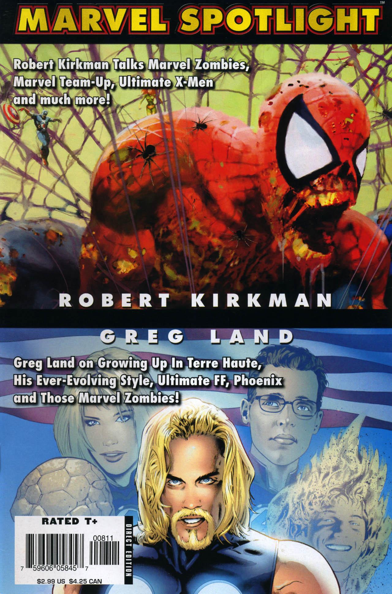 Marvel Spotlight: Robert Kirkman/Greg Land Vol 1 1