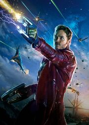 Peter Quill (Earth-199999) from Guardians of the Galaxy (film) Poster 001.jpg
