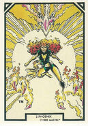 Phoenix Force (Earth-616) from Arthur Adams Trading Card Set 0001