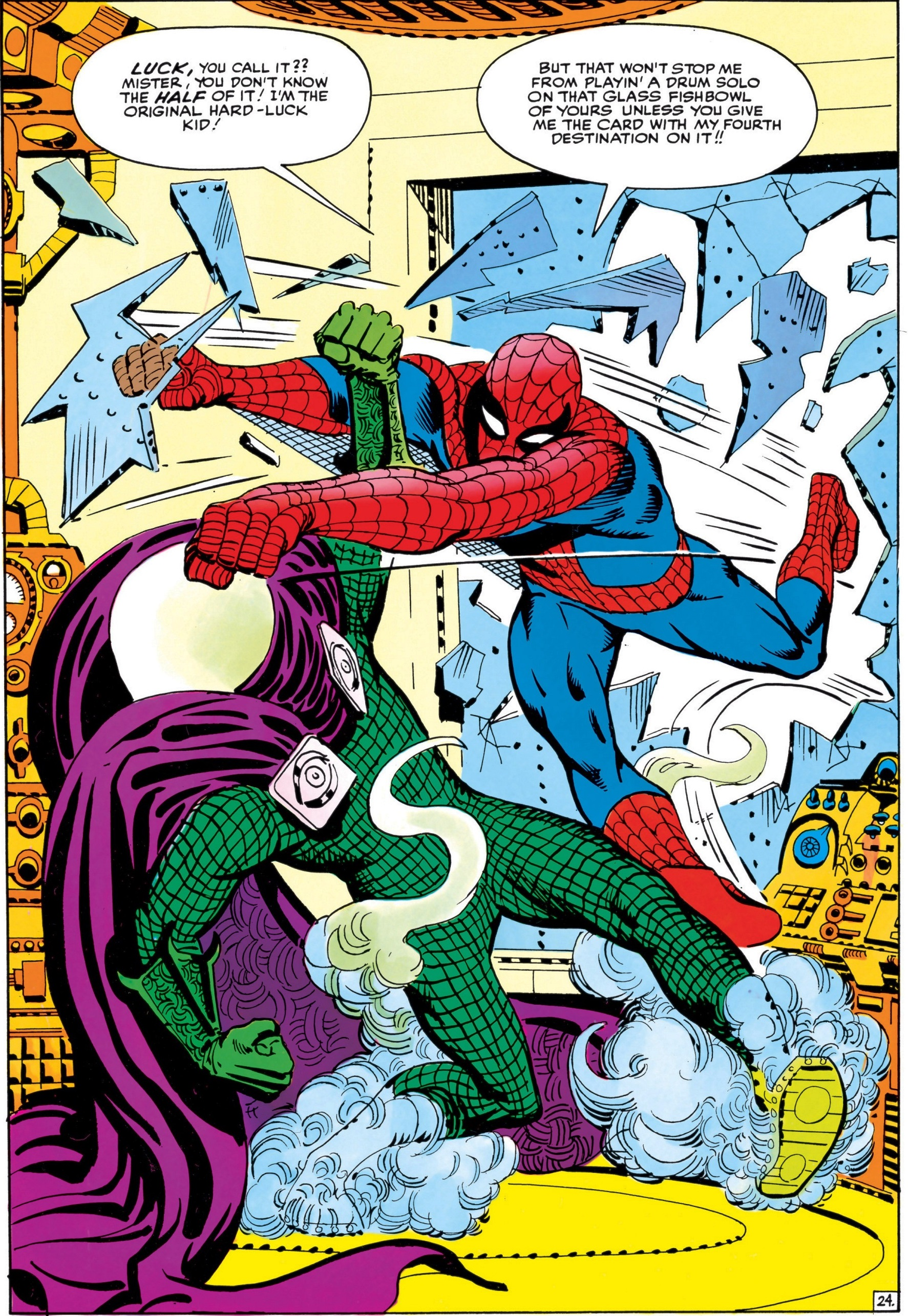 Quentin Beck (Earth-616) vs. Peter Parker (Earth-616) from Amazing Spider-Man Annual Vol 1 1 001.jpg