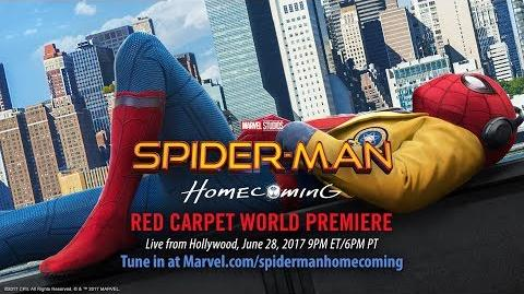 Spider-Man Homecoming Red Carpet Premiere - Part 1