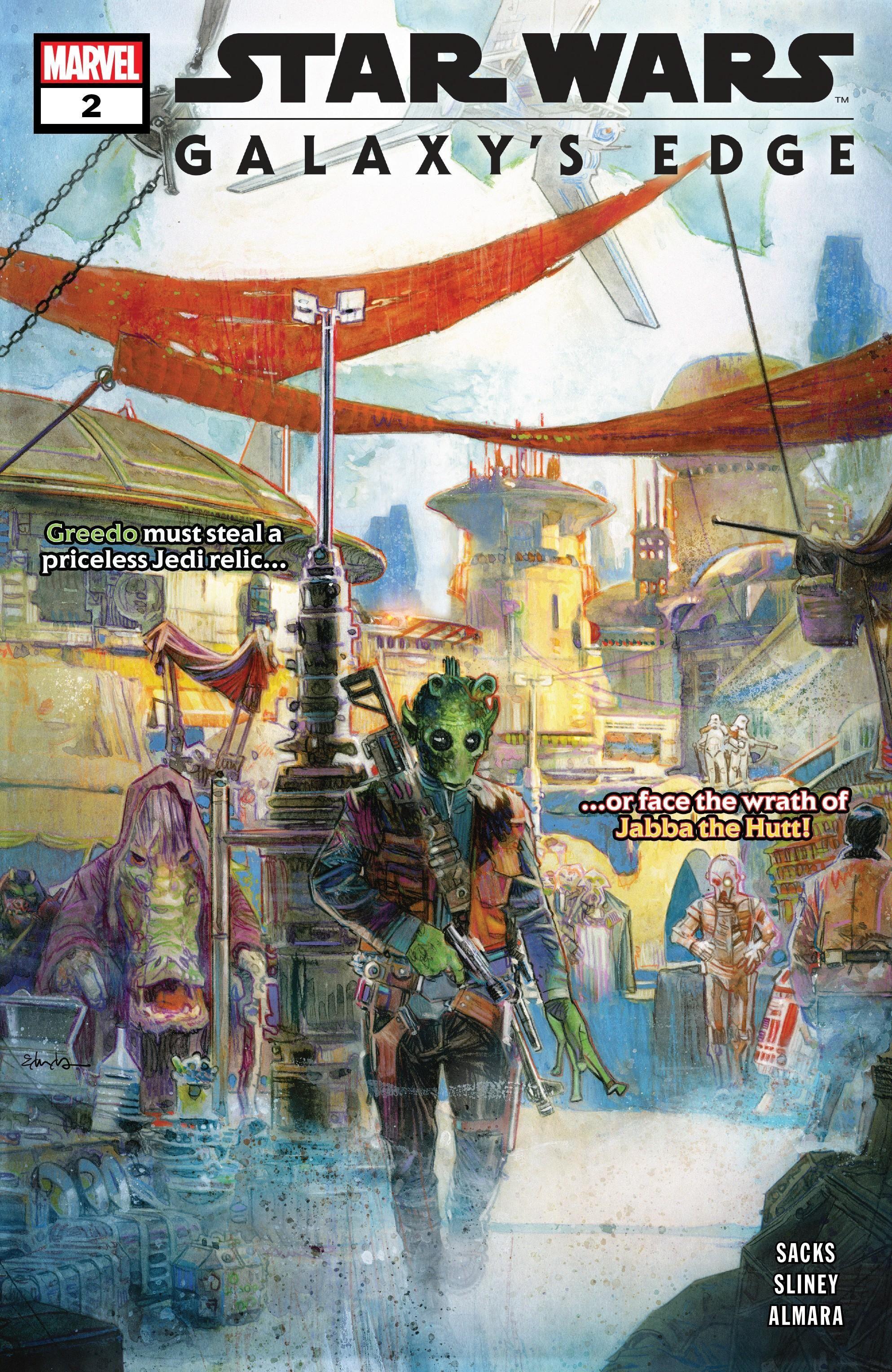 Star Wars: Galaxy's Edge Vol 1 2