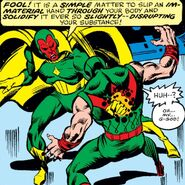 Vision (Earth-616) and Simon Williams (Earth-616) from Avengers Vol 1 158 003
