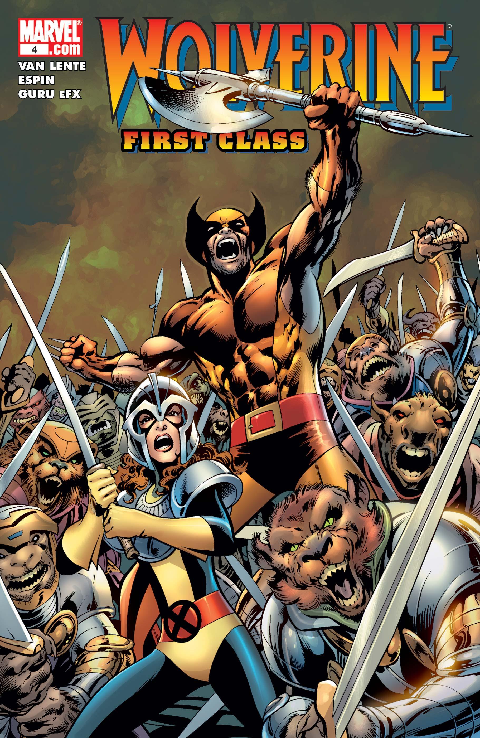 Wolverine: First Class Vol 1 4