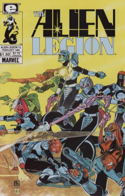 Alien Legion Vol 1 12