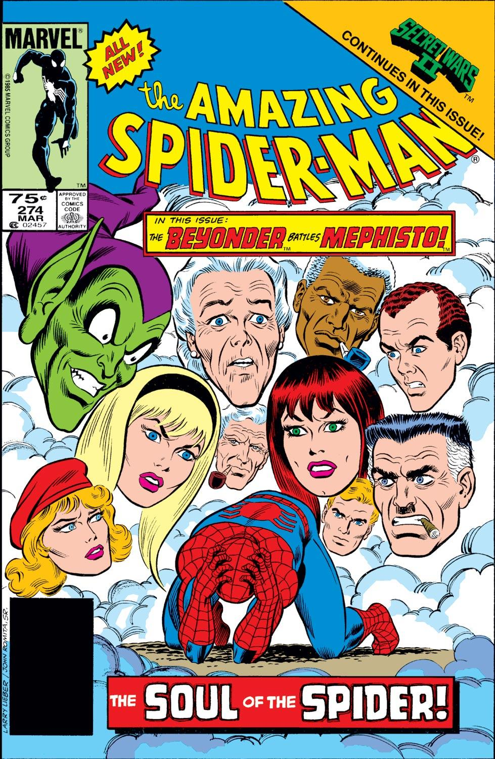 Amazing Spider-Man Vol 1 274
