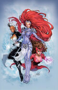Avengers & X-Men AXIS Vol 1 1 Oum Variant Textless