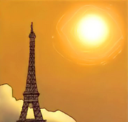 Eiffel Tower from Mighty Avengers Vol 1 1 001
