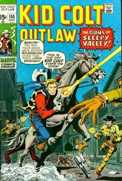 Kid Colt Outlaw Vol 1 155