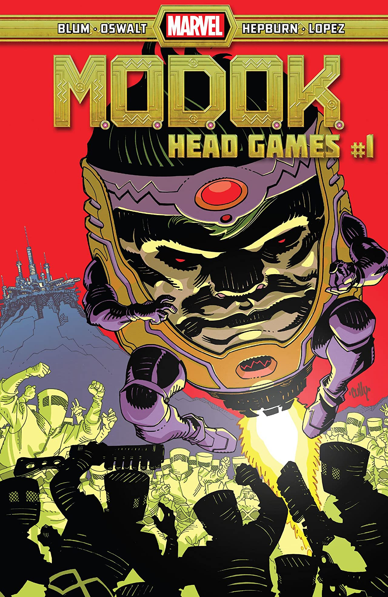 M.O.D.O.K.: Head Games Vol 1 1