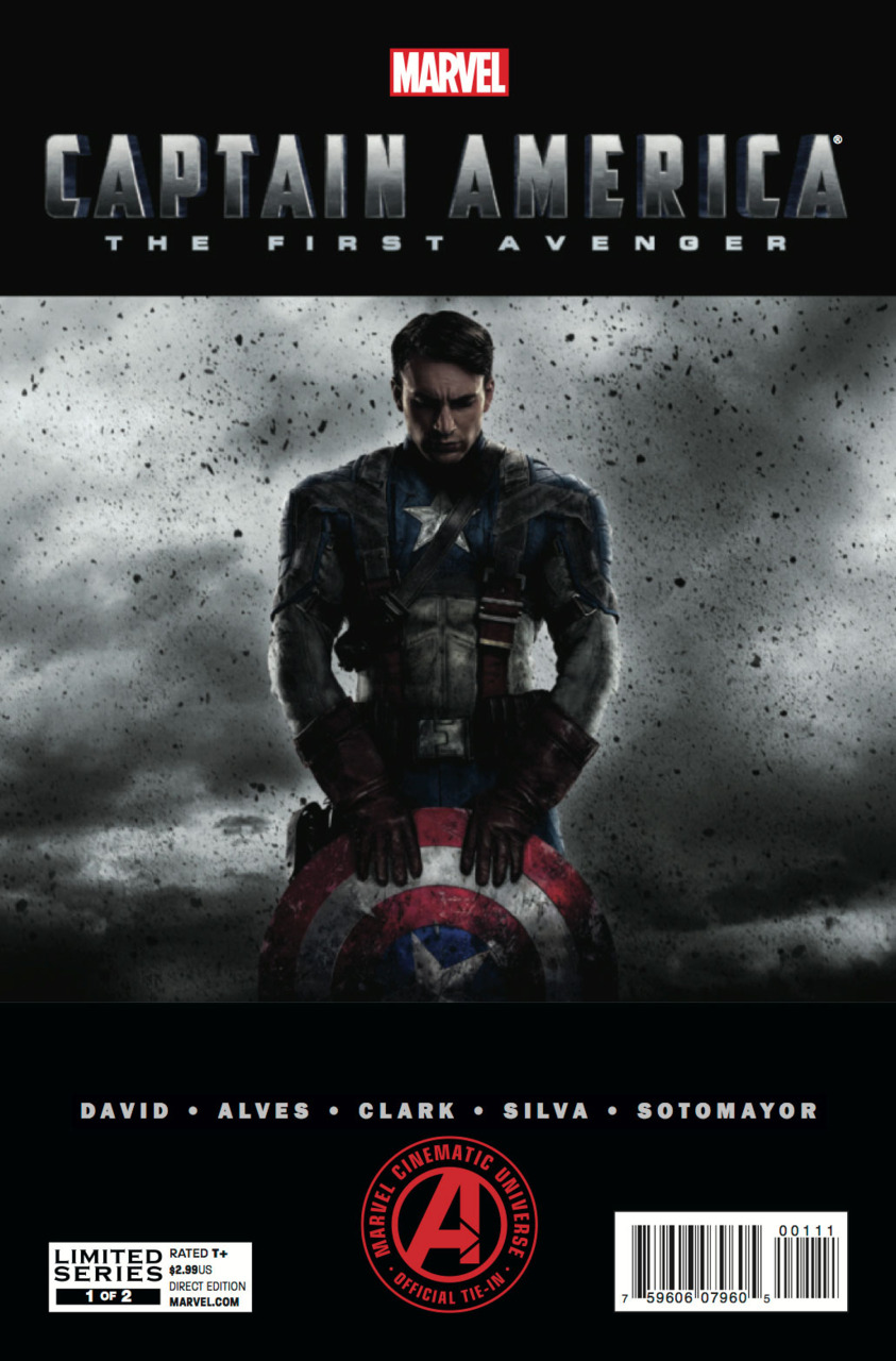 Marvel's Captain America: The First Avenger Adaptation Vol 1 1
