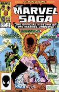 Marvel Saga the Official History of the Marvel Universe Vol 1 4
