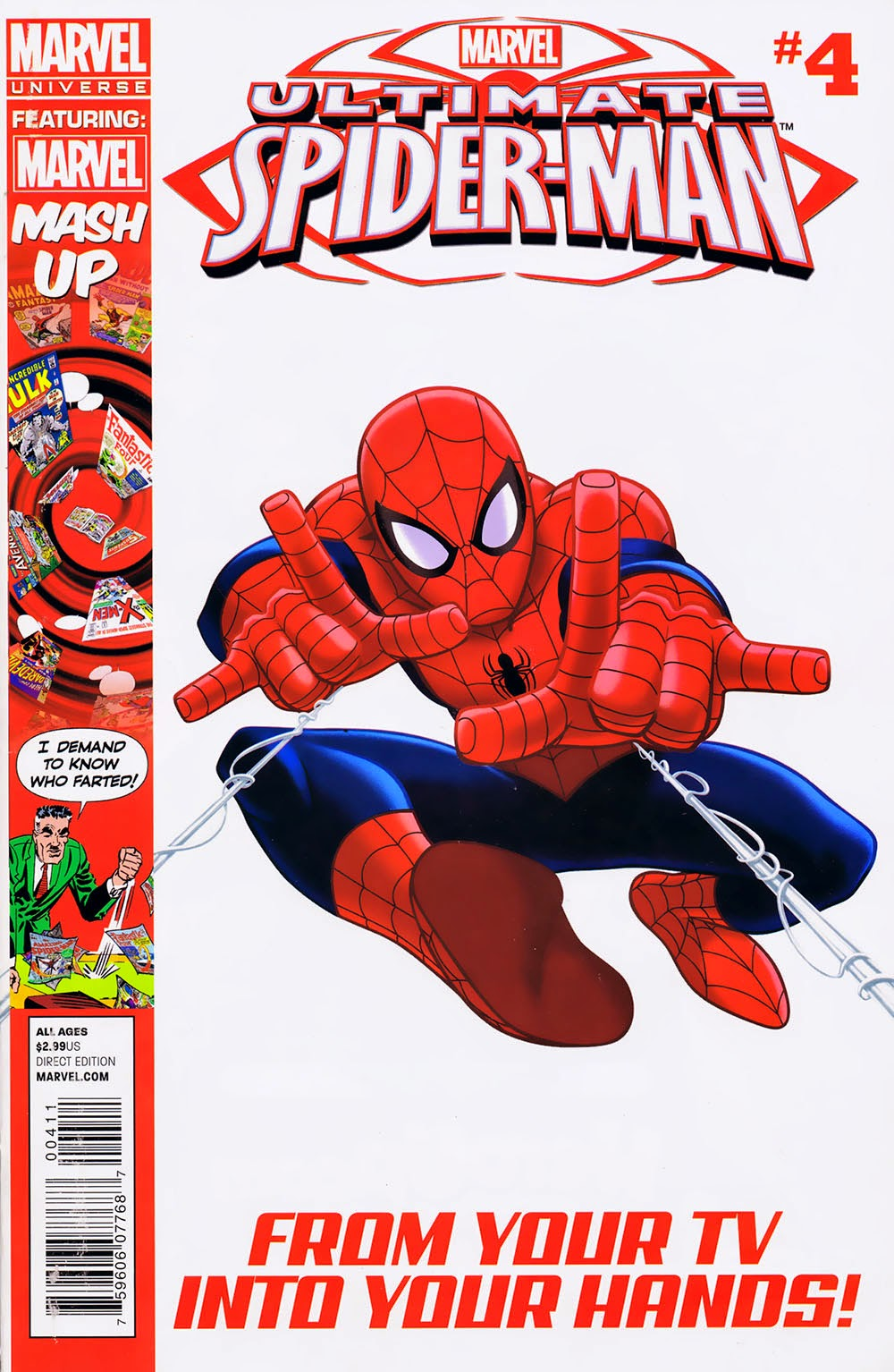 Marvel Universe: Ultimate Spider-Man Vol 1 4