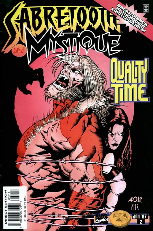 Sabretooth and Mystique Vol 1 2