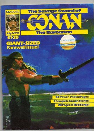 Savage Sword of Conan (UK) Vol 1 93