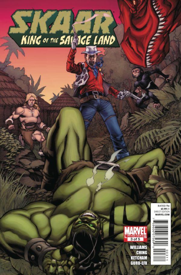 Skaar: King of the Savage Land Vol 1 3