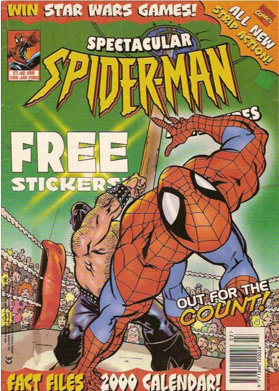 Spectacular Spider-Man (UK) Vol 1 56