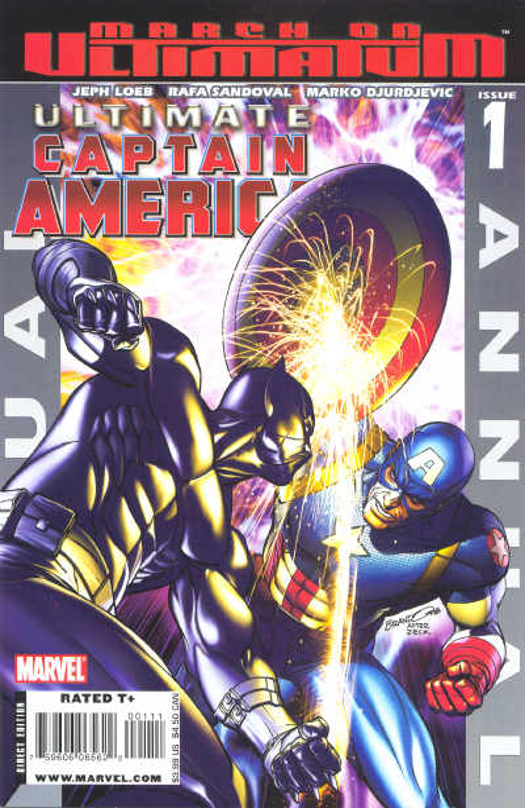Ultimate Captain America Annual Vol 1 1