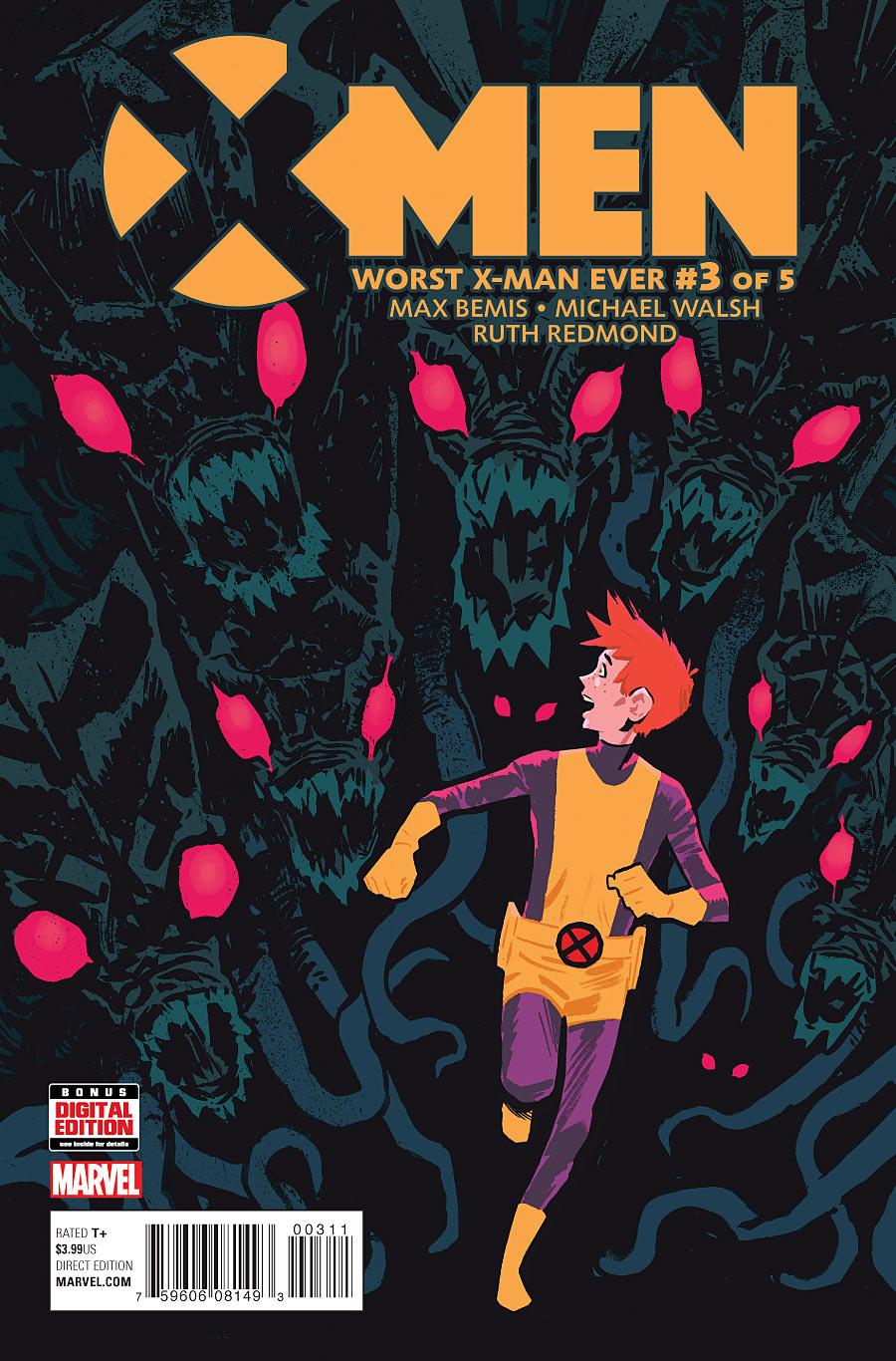 X-Men: Worst X-Man Ever Vol 1 3